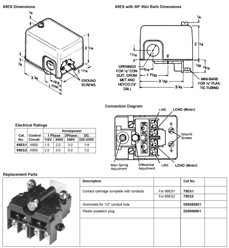 Wiring 220 Pressure Switch - Wiring Diagrams •