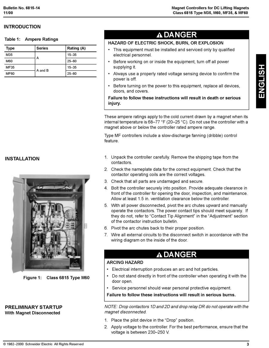 HubbellDirect.com: Products: Lifting Magnet Controllers:Bulletins